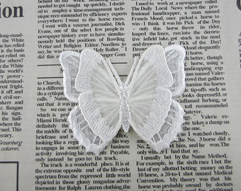 White Butterfly Iron On Patches