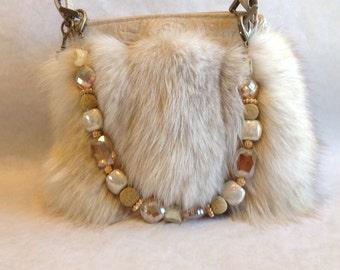 Vintage Blond Fox HandbG