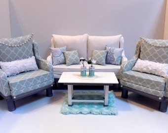 American Girl Gatsby Style Living Room Set