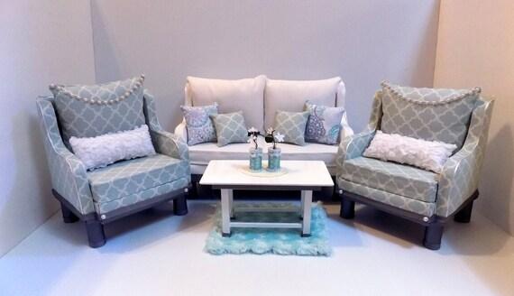 American girl doll gatsby style living room set