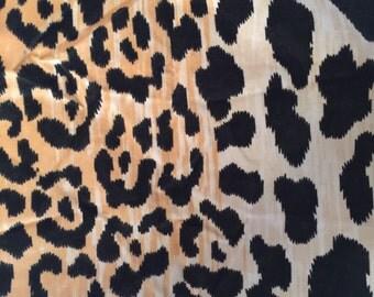 Clarence House Leopard Samburu fabric
