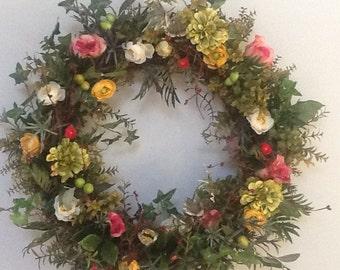 Suummer Wreath.