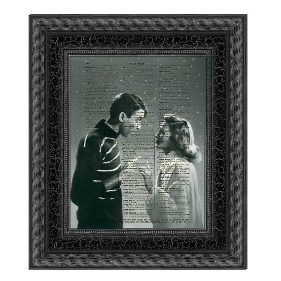 It 39 S A Wonderful Life George And Mary In The Snow Printed