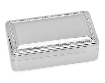 Personalized Double Velvet Jewelry Box