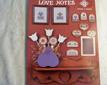 Counted Cross Stitch Pattern - Love Notes From Cross 'N Patch