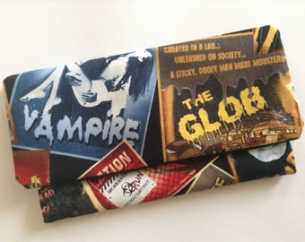 Monster Movie Poster Clutch