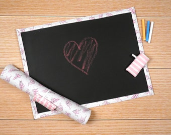 Travel Chalkboard Mat - Ballet Slippers