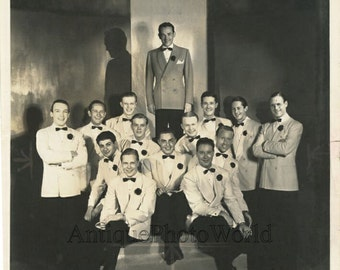 Jimmy Dorsey orchestra antique jazz music photo