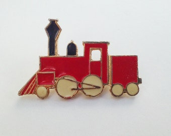 ON SALE Red Train Pin