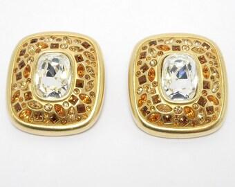 Beautiful Sparkling Swarovski Crystal Earrings