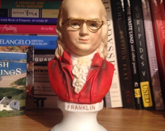 Ben Franklin Bust made by Lefton China