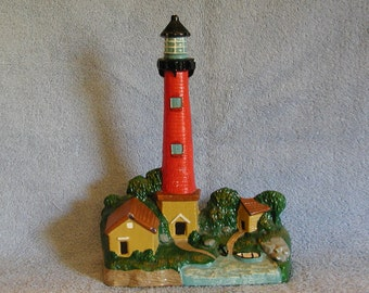 Cast Iron Doorstop - Nautical Theme - Lighthouse