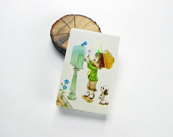 Cute Vintage Play Bridge Cards Vintage Game Mail Box Joker New Cards Deck Playing Cards