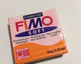 On Sale FIMO Soft Polymer Clay - 42 Tangerine - 56g Single Block