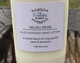 Pear Lotion - Pear Hand Lotion - Aloe Hand Lotion - Pear Body Lotion - Aloe Vera Lotion - Pear Fragrance - Pear Perfume - Hand Lotion - Pear