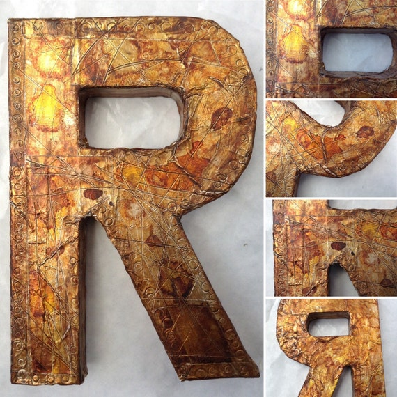 metal letter wall art faux metal wall letter metal letter custom wall name decor 23622 | il 570xN.926553489 pj74