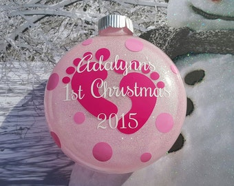 Baby's First Christmas Ornament 2017