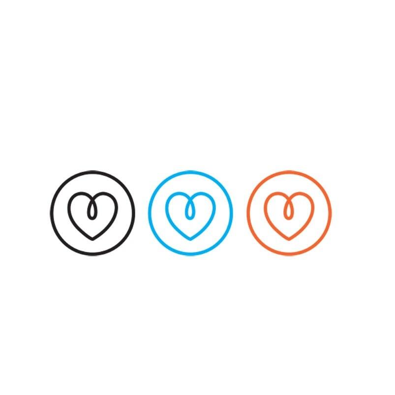 heart logo wedding logo wedding heartpre made logo