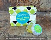 Calendula Set, Sensitive Skin Gift Set, eczema soap set, soap and salve, comfrey salve set, nettle salve, psoriasis salve, green goop set