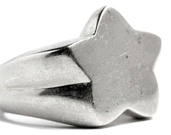 Shooting Star Ring 925 Silver