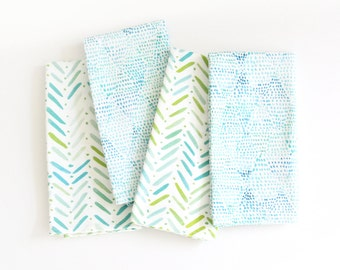 Morning Dew + By the Sea - Mix & Match Napkin Set
