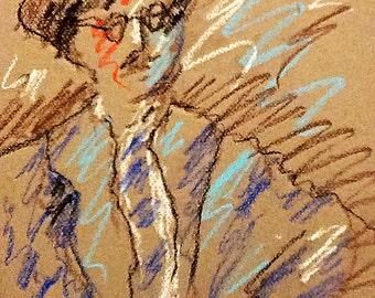 Book Illustration - James Joyce