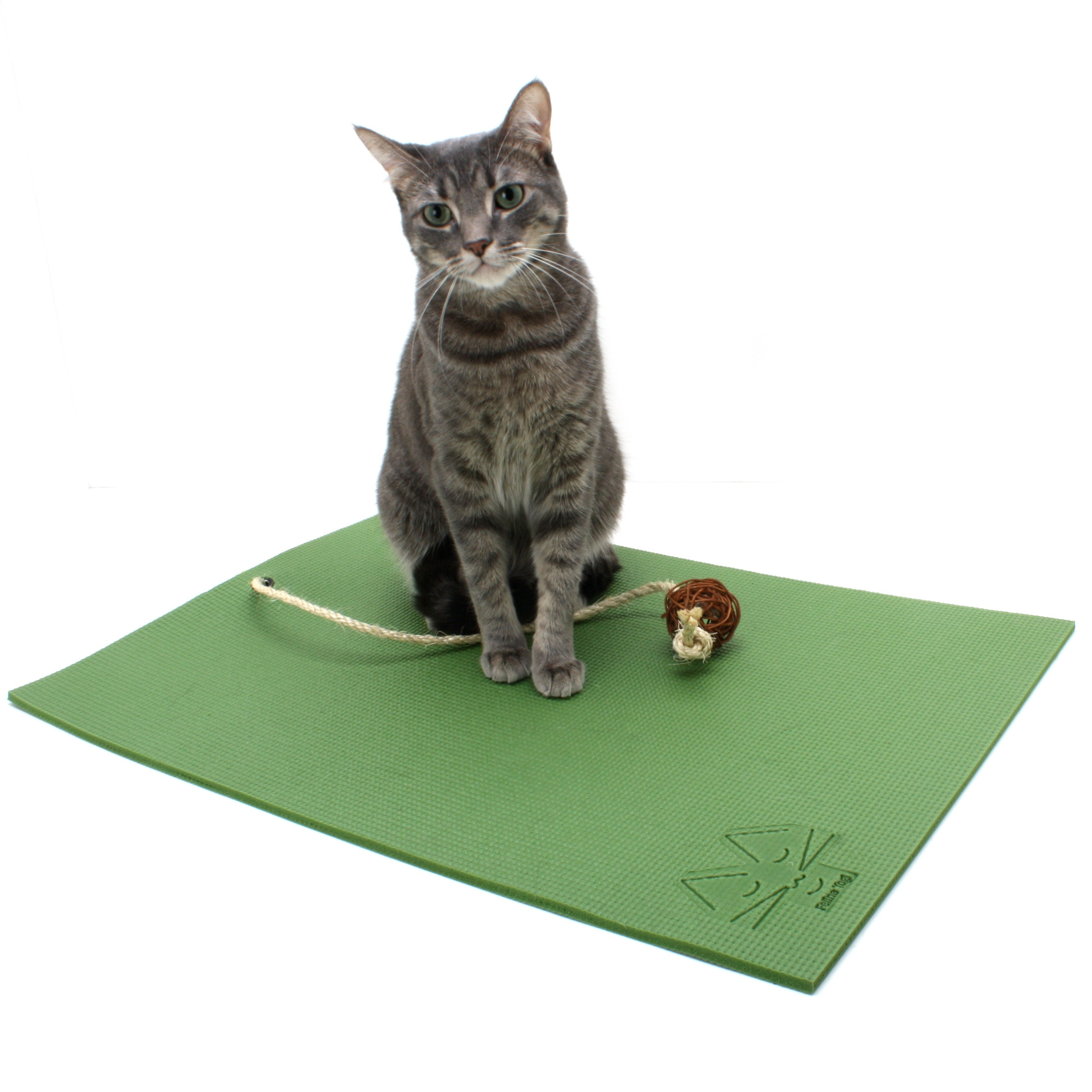 Cat Mats And Cat Toys With A Yoga Cat Theme By FelineYogi