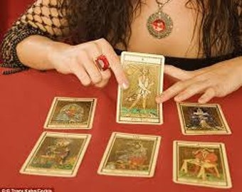 Personalized Tarot Reading By Text or Email