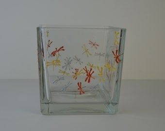"""Vase or candle """"Butterflies of light"""""""
