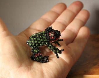 Tiny Beaded Frog/Sale was 12