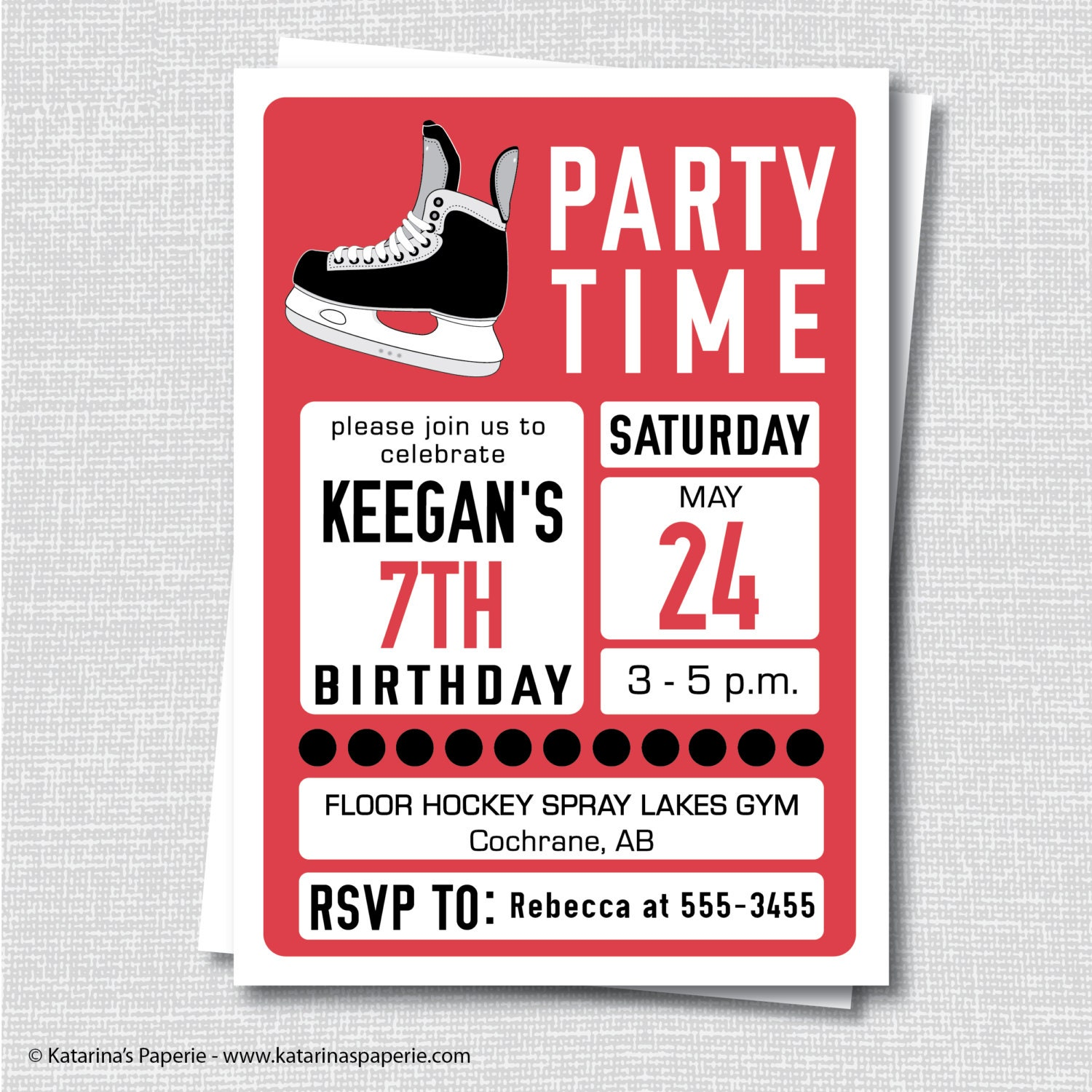 Teen birthday invite – Teenage Girl Party Invitations