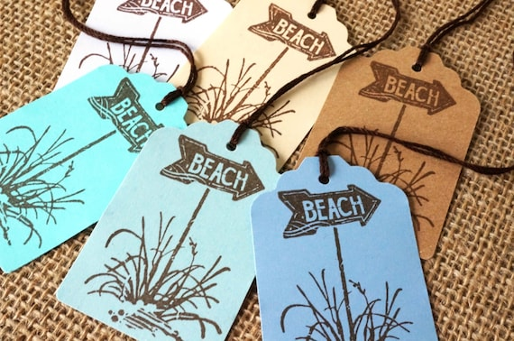Destination Wedding Gift Tags : Beach Gift Tags - Destination Wedding Favor Tags - Hawaii Wedding Tags ...