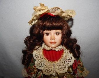 Vintage Limited Edition  Porcilain Doll