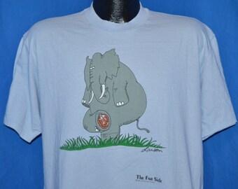 80s The Far Side Elephant Comic Gary Larson t-shirt Extra-Large