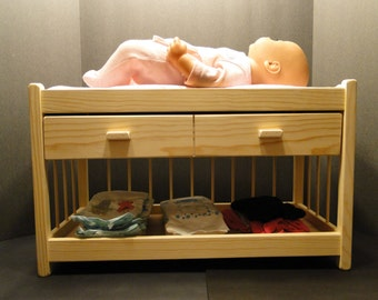 Changing Table For 15 18 Inch Dolls With Mattress (0143)