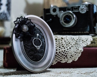 Pin Cushion/Ring Holder Picture Frame