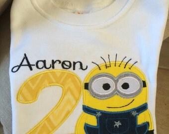 Minnions Inspired shirts