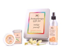 AROMATHERAPY GIFT SET - Natural Gift Box - Mother in law - Daughter - Friend Gift