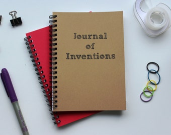 Journal of Inventions-  5 x 7 journal