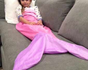 Mermaid tail blanket/cocoon