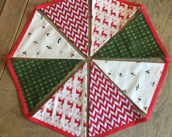 Christmas Bunting Decoration // Festive Bunting // Handmade Bunting