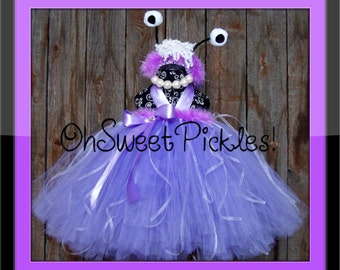BOO MONSTERS INC Inspired - Halloween Costume -  Sizes 0, 3, 6, 9, 12, 18, 24 Months, 2t, 3t, 4t, 5t