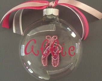 Personalized Ballet Ornament-Ballet Ornament-Personalized Gift