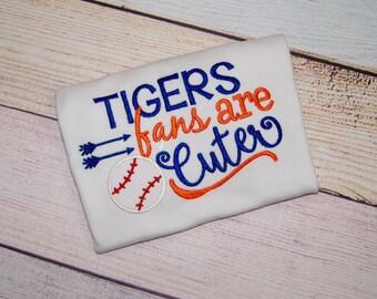 Detroit Tiger Baseball Shirt -  Detroit Tiger Baby Girl -Detroit Tiger Baby - Detroit Tiger Girl Shirt Baseball - Detroit Tiger Baby