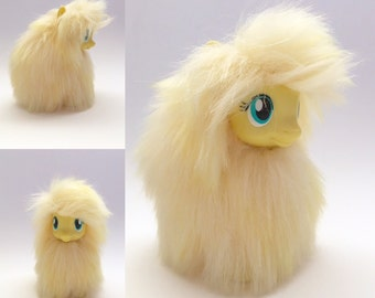 Custom Fluffle Puff inspired My Little Pony Yellow  *Ready to Ship*