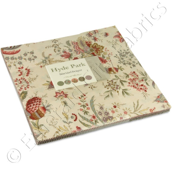 Moda Hyde Park Layer Cake Fabric Squares 2760LC