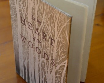Hand made limited edition book with etchings and letterpress