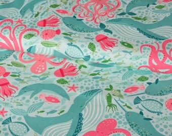 Moda Under the Sea cotton woven fabric - UK seller