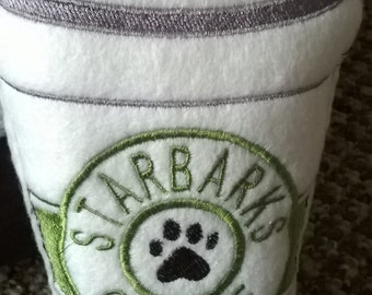 Personalised Starbarks Dog Toy, Plush Dog Toy, Squeaky Toy