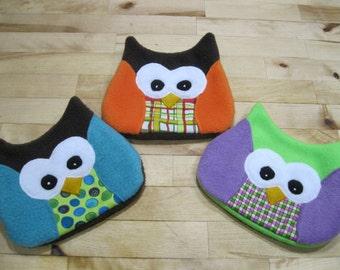 boo boo bag,  owl boo boo bag, puppy boo boo bag, ice pack cover, owl ice pack cover, puppy ice pack cover